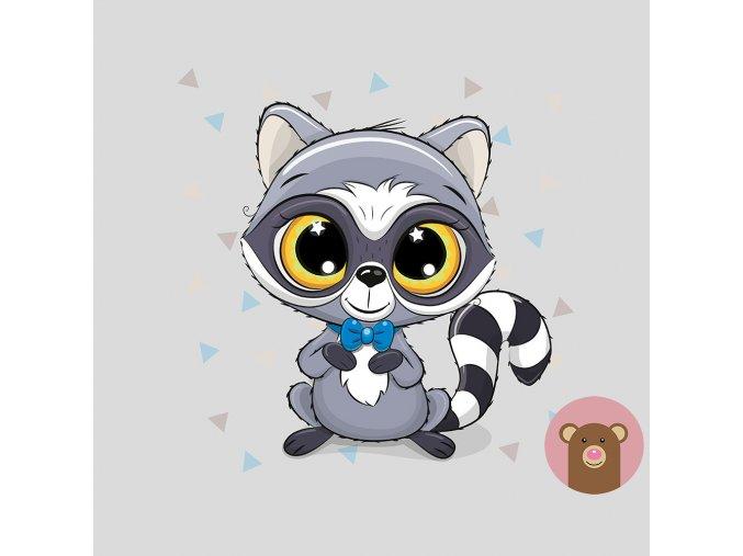 ft panel raccoon bowtie