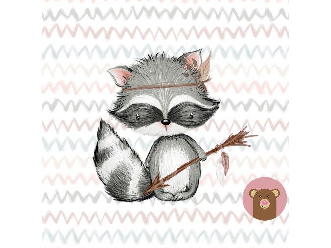 ft mlong forestfriends raccoon