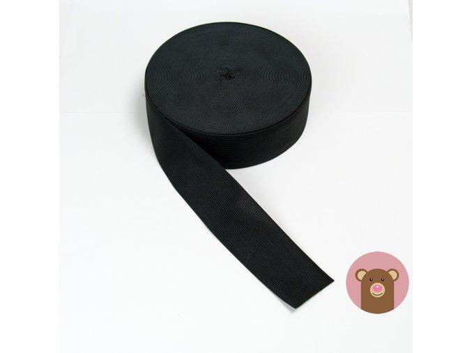 Guma černá 5 cm