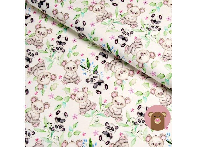 5866 2 teplakovina panda a koala