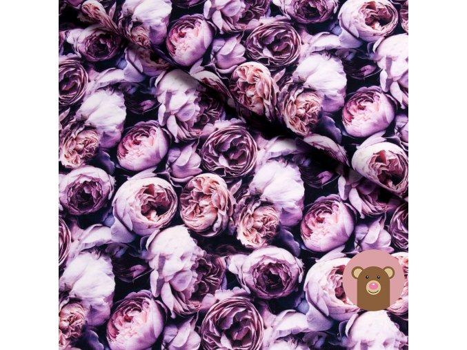 6067 teplakovina fialove ruze