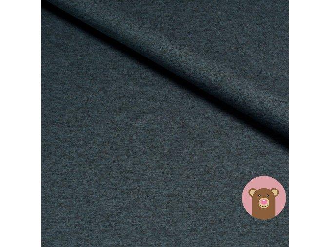 6271 teplakovina jednobarevna tmavy melanz