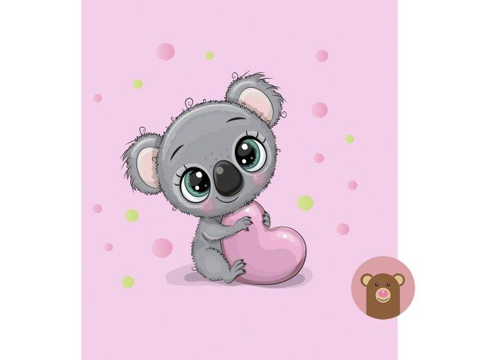 ft panel coala heart