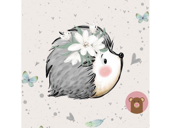 ft panel forest adventures hedgehog