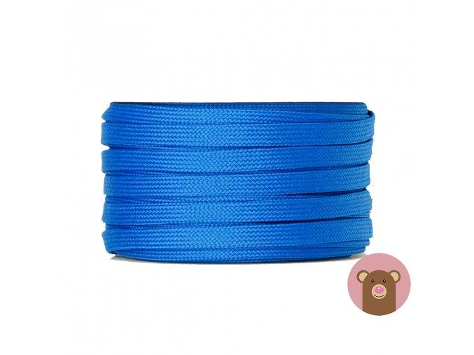 6532 snura plocha dutinka modra sire 10 mm