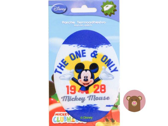 nažehlovačka Mickey 1928 - 10,5cm x 8cm