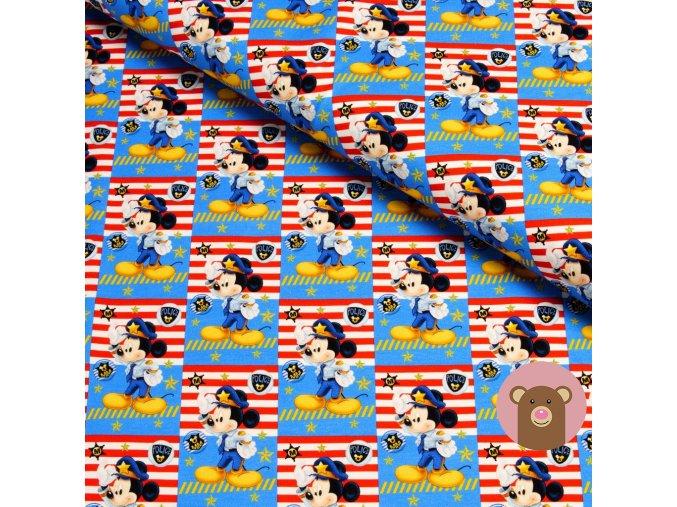 teplákovina Mickey námořník