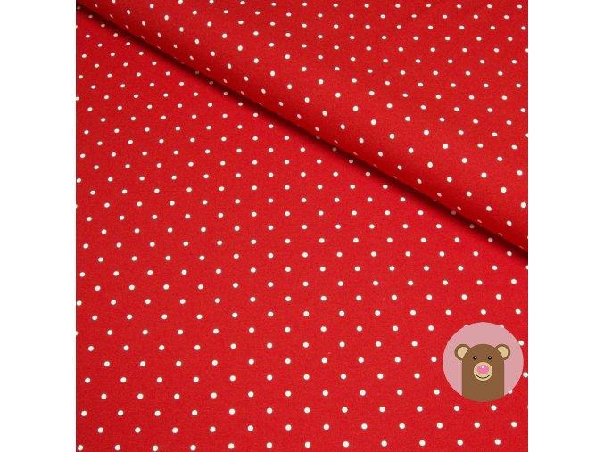 4859 1 teplakovina puntik na cervene