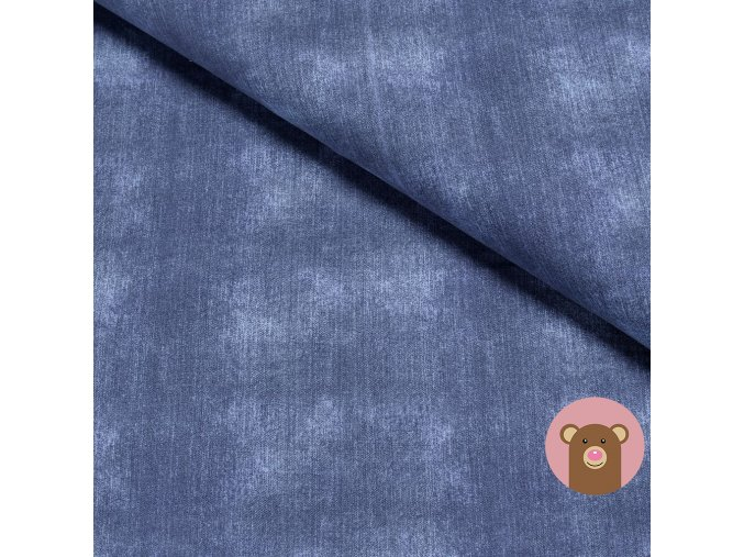 teplákovina Jeans - Dark blue