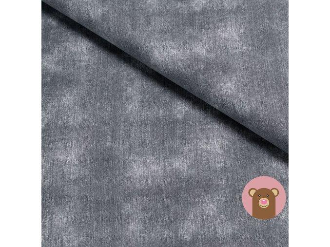 6928 1 teplakovina jeans grey