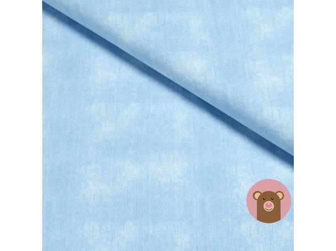 teplákovina Jeans - Light blue
