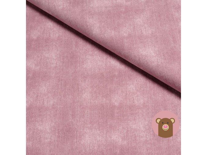 6934 1 teplakovina jeans washed pink