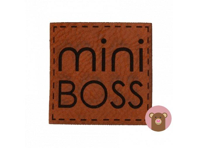7075 stitek z kozenky mini boss
