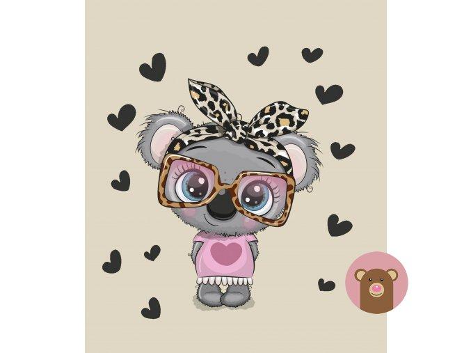koala s brýlema