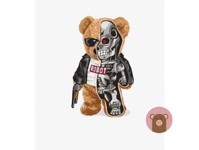 medvídek robot