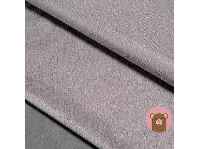 Zimní softshell fleece Rybí kost - světle šedá