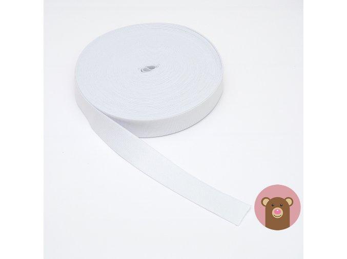 Guma bílá 3 cm