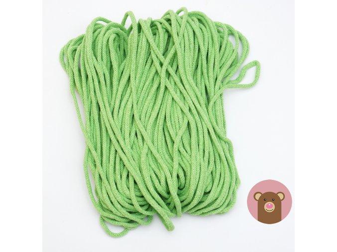 894 snurka zelena 5 mm