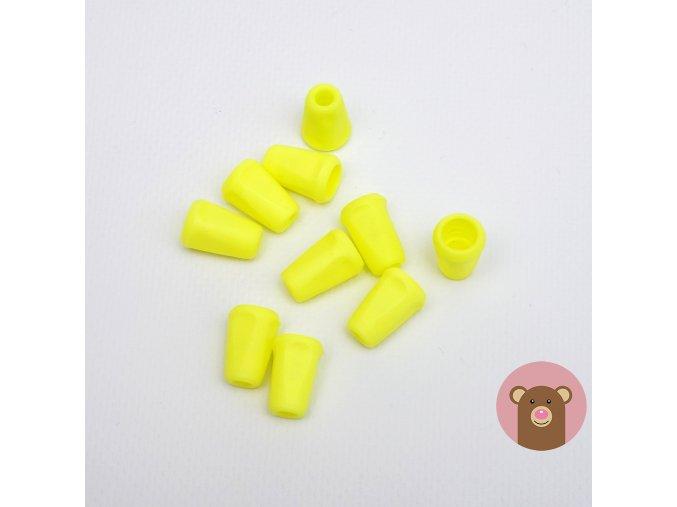 Koncovka svítivě žlutá
