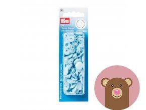 """Patentky """"Color snaps 12.44mm"""" PRYM LOVE - světle modrá"""