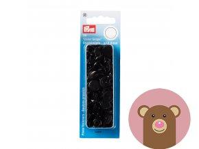 """Patentky """"Color snaps 12.44mm"""" PRYM LOVE - černá"""