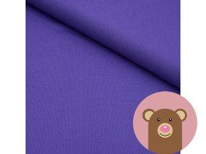 Náplet jemně žebrovaný fialová