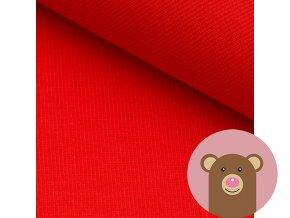 2000 2 naplet jemne zebrovany cervena