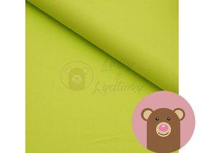 2477 teplakovina jednobarevna svitive zelena