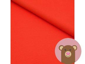 3650 1 100 bavlneny uplet cervena