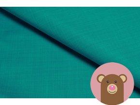4049 2 zimni softshell s berankem zelenomodra