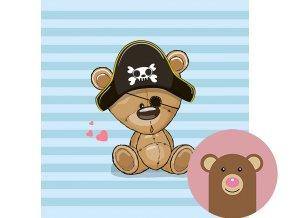 4976 1 panel medvidek pirat