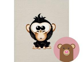 panel úplet vykulená opice