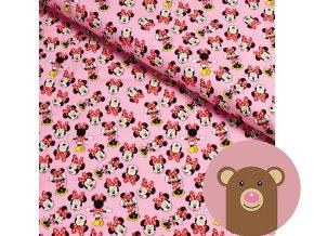 teplákovina Minnie na růžové