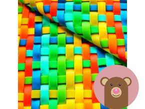 5959 1 uplet barevne prouzky