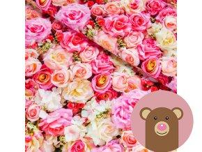 6016 2 teplakovina ruzove ruze