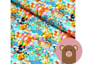 6172 teplakovina disney svet s balonkama