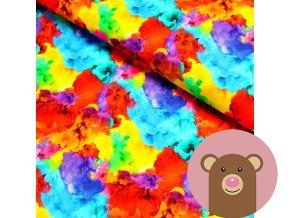 6361 1 teplakovina barevne kourove mraky