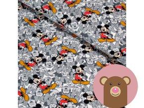 teplákovina Barevný Mickey