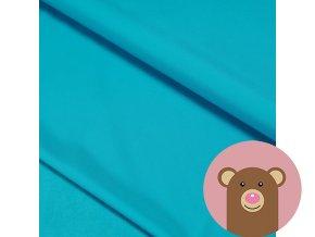 Zimní softshell s fleecem - modrá