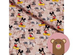 teplákovina Mickey - don´t mess