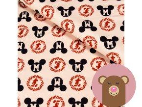teplákovina Mickey na béžové