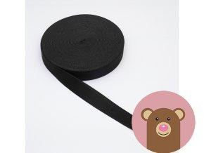 Guma černá 3 cm