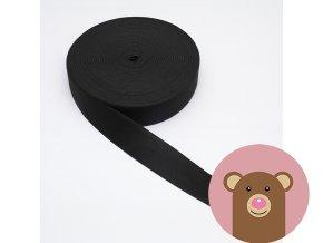 Guma černá 4 cm