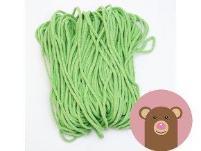 Šňůrka zelená 5 mm