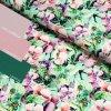 5479 3 teplakovina kvety na svetle zelene