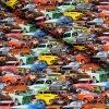 5557 2 teplakovina barevna auta