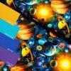 5815 3 teplakovina barevny vesmir