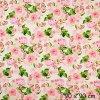 5836 5 teplakovina kvety ruzove na svetle