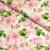 5836 3 teplakovina kvety ruzove na svetle