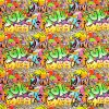 6199 2 teplakovina barevne graffiti